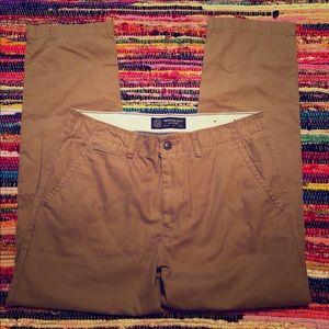 NWT American Eagle original Straight Khaki pants